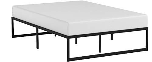 Zinus Abel 14 Inch Metal Platform Bed Frame with Steel Slat Support, Mattress Foundation, Full