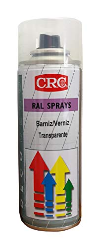 RC2 Corporation CRC 30148-AA - DECO RAL- Pintura de secado extra rápido. Alto brillo. Barniz transparente brillo 200 ml, negro