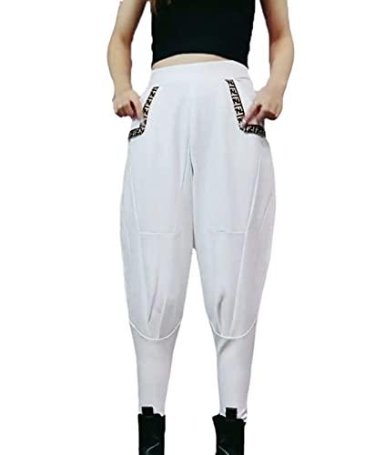 keepwo Pantalones ecuestres de Jodhpur para Mujer, Mallas para Montar a Caballo, Mallas, Pantalones de Cintura Alta para equinos