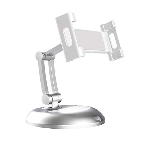 FYBOOR Phone Stand Tablet Stand Multi-Angle Cell Phone Stand for Any 5-12.9Inch Display Tablets or Cell Phones,White
