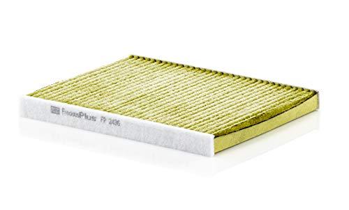 Original MANN-FILTER FP 2436 - FreciousPlus Biofunktionaler Pollenfilter - Für PKW