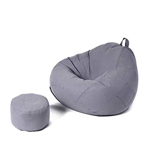 SD Un Pouf/Bean Bag Chaise/Grande Fauteuil/Confortable/avec Mousse Ultra Confortable/pour Enfants Et Adultes/100 * 110 cm