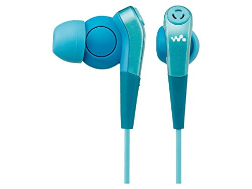 SONY In-Ear Headphones exclusively for Walkman with Noise-canceling Function | MDR-NWNC33 L Blue