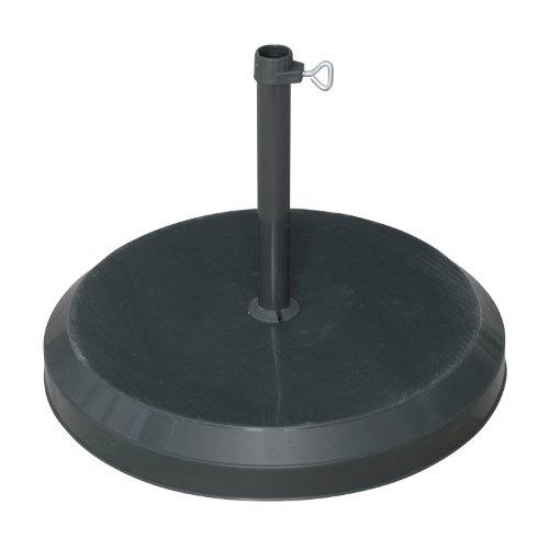 Doppler 85899MA Betonsockel mit Kunststoff-Abdeckung 25 kg für Rohr 26-33-37 mm, anthrazit
