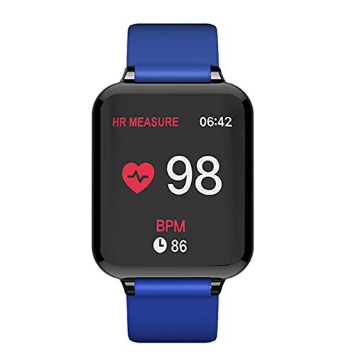 Smart Watch B57 Pulsera IP68 Impermeable Deportes Smart Reloj de Ritmo cardíaco Presión Arterial Fitness Mujeres Mejores,D