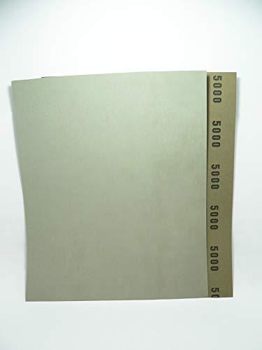 Schleifpapier wasserfest, 230 mm x 280 mm, Körnung 80-5000, Nass-Schleifpapier 280 mm x 230 mm 80 (K5000)