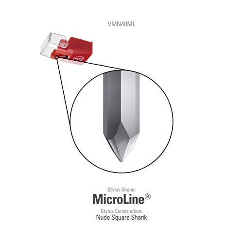 Audio-Technica VMN40ML Aguja de Recambio para VM740ML y VM540ML ...
