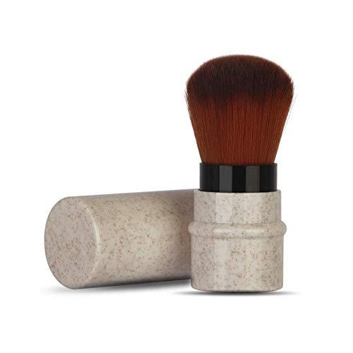 Pinceaux Maquillage de Maquillage pour Fard à Joues, Poudre, Fond de Teint, Cache-cernes Beauté Maquillage Brosse Cosmétique Professionnel(Beige)
