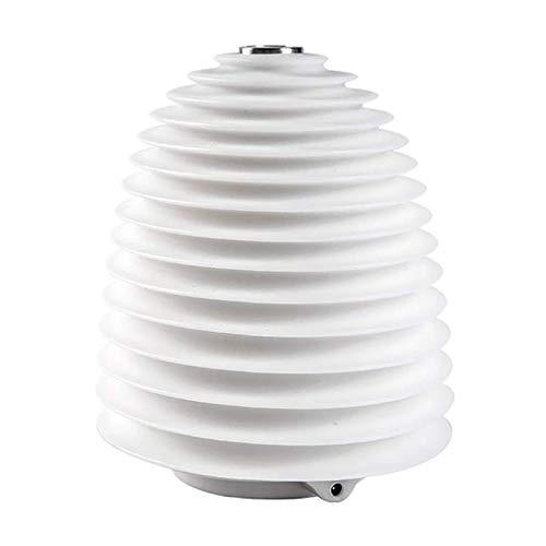 Mini humidificador, luz nocturna USB de mesa redonda, luz nocturna para la escena del dormitorio en casa, humidificador atomizador pequeño silencioso, interruptor táctil oculto, fácil de llevar