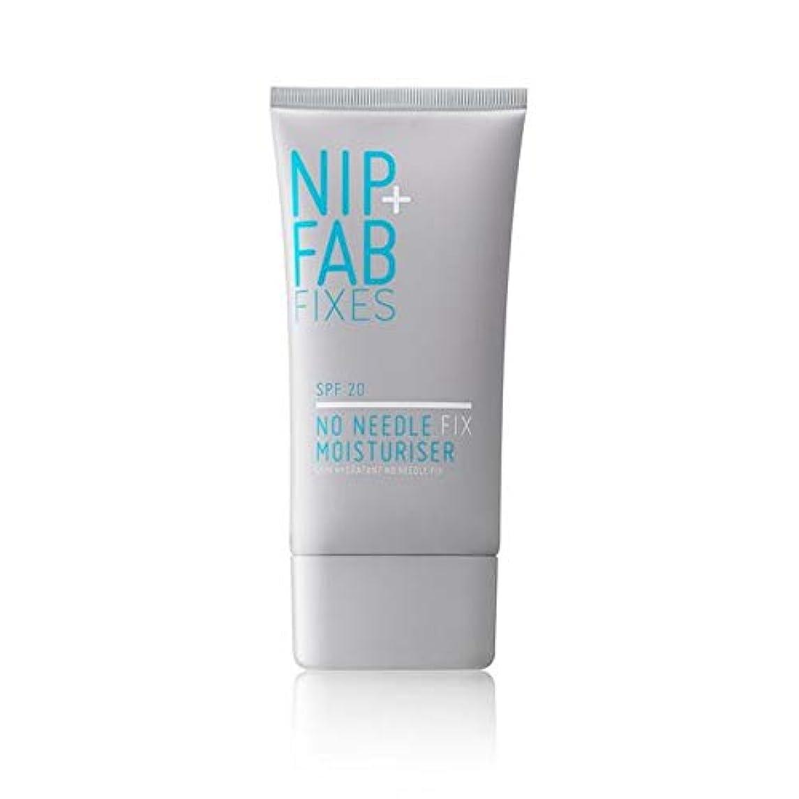 砲兵出します予測子[Nip & Fab ] + Fab無針修正Spf 20日クリーム40ミリリットルニップ - Nip+Fab No Needle Fix SPF 20 Day Cream 40ml [並行輸入品]