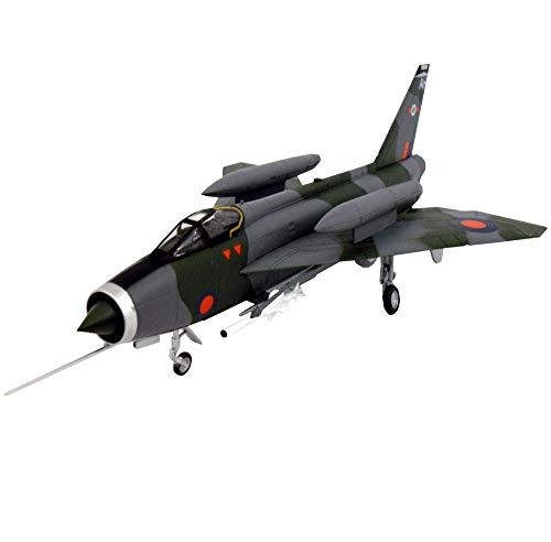 X-Toy Kits Modelo De Rompecabezas De Luchador Militar, 1/72 Scale Electric BAC Lighting FMK3 RAF Modelo De Plástico, 9.2 Pulgadas X 5.8 Pulgadas
