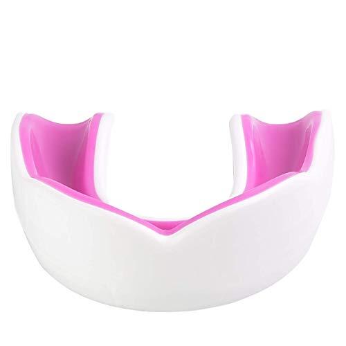 Oral Mart Jugend Sport Mudguard für Kinder (Weiß/Pink)