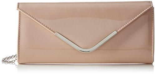 Bulaggi Damen Party envelope Clutches, Pink (Pastel Rose 61), 27x12x4 cm