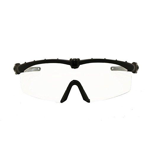 EnzoDate Gafas de Sol del ejército Polarized fotocromía de transición Gafas Militares balísticos Hombres Frame 3/4 Juego de Guerra del Combate de la Lente Eyeshields