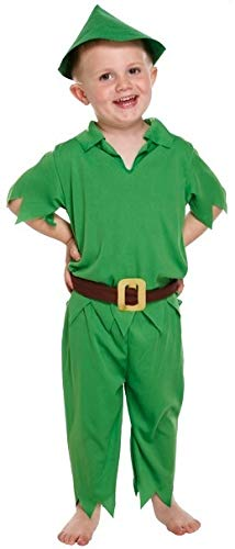 KIDS Children Like Peter Pan fancydress costume Outfit (costume)