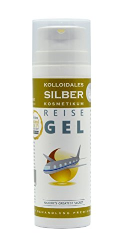 Nature's Greatest Secret Premiumqualität Gel aus kolloidalem Silber, antibakteriell, Pumpdosierer, 50 ml
