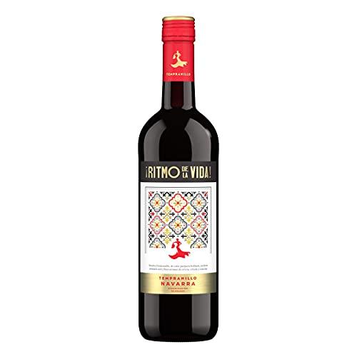 Ritmo de la Vida Tempranillo Wein – Trockener Rotwein aus Spanien (1 x 0,75l)