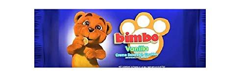 Bimbo Vanilla Creme Sandwich Cookies - 9.28 Ounces (8 individual packets per Pack)