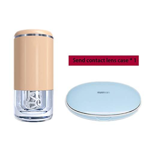 Mini Smart Kontaktlinsen-Reinigeretui USB-Ladegerät Automatische Reinigungslinsen Reinigungswerkzeuggläser-A