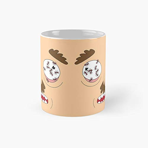 Ants In My Eyes Johnson R.i.c.k And M.o.r.t.y Classic Mug - 11 Ounce For Coffee, Tea, Chocolate Or Latte.