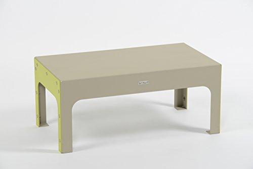 Styl'Métal 21 Table Basse Lounge métal Noir Taupe et Vert anis