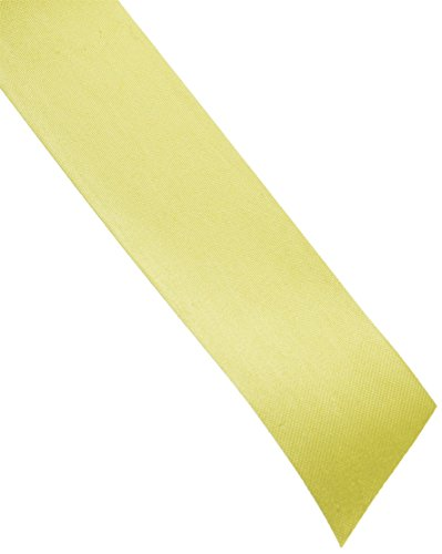 Berwick FL9 05 1-7/16-Inch Wide by 100-Yard Spool Flora Satin Craft Ribbon, Yellow