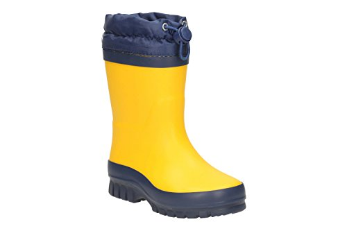 Clarks Swizzle Sam Yellow Syntheti - Yellow Syntheti - 10 UK Child