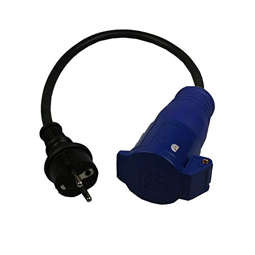 Cable adaptador CEE 400 V 230 V 16 A / 3 pines,...