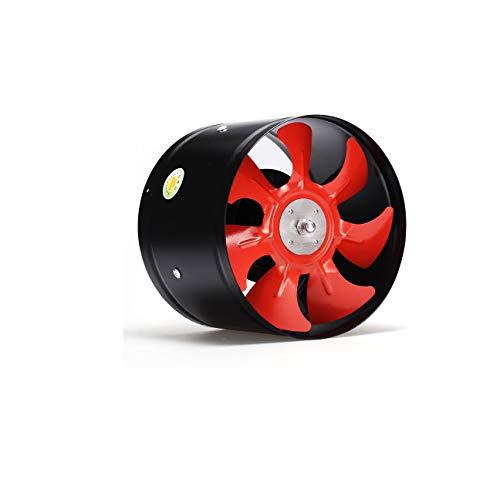 XZJJZ Ventilador de Escape Ventilador de conducto Ventilador de Cocina Ventilación Ventilador Industrial Ventilador de ventilación de Humo Fuerte Ventilador de Pared para baño