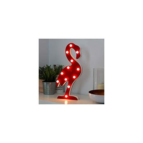 As De Trebol - Lámpara de led flamenco