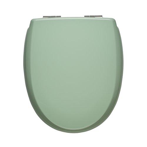 WC Sitz mit Absenkautomatik | Premium Toilettensitz mit Absenkmechanismus und Quick-Release Funktion zur einfachen Reinigung | Qualitätsprodukt Made in Sweden (grün)