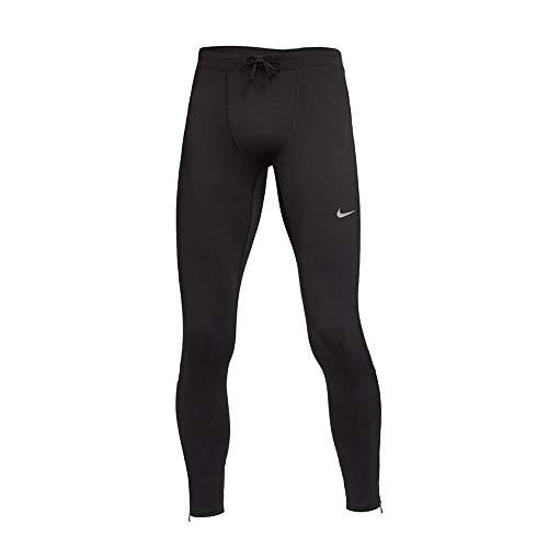Nike Dri-FIT Challenger Legging Homme, Noir/Réflexion Silv, XL