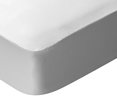 Pikolin Home Tencel Breathable Waterproof Mattress Protector, White,...