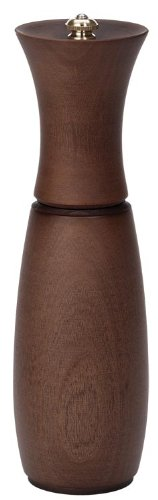 Fletchers' Mill Border Grill Pepper Mill, Walnut Stain - 8 Inch, Adjustable Coarseness Fine to Coarse, MADE IN U.S.A.