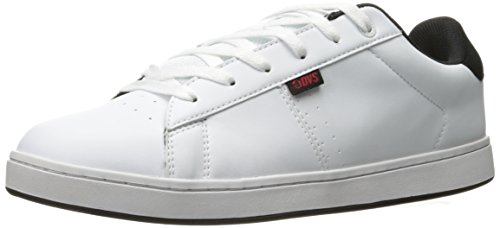 DVS Shoes Herren Revival 2 Sneaker, Weiß (White Black Red), 45 EU