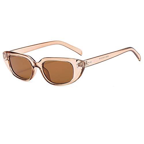 Gafas de sol de montura cuadrada, moda de arroz, gafas de sol para todos los partidos, red de moda de color rojo