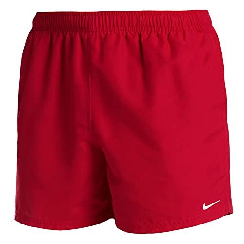 Nike 5 Volley Pantaloncini da Bagno da Uomo, Uomo, Costume da Bagno, NESSA560-614, Rosso (University Red), L