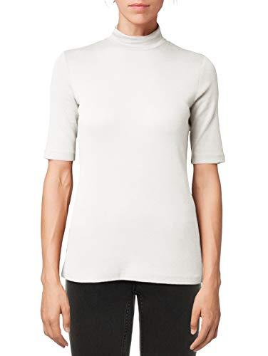 Dames-t-shirt, korte mouwen, blouse, ronde hals, basic, dames-t-shirt, casual, herfst, winter, lente, zomer.