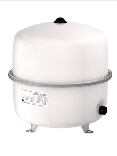Flamco-Wemefa 26333 Membran-Druckausdehnungsgefäß Contra-Flex 35, 1.5 bar, nach DIN 4751-2, weiß
