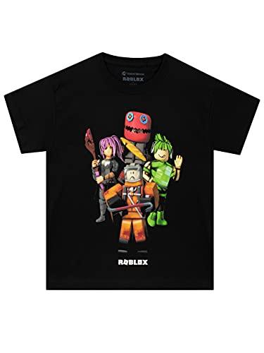 Roblox Camiseta para Niño Negro 9-10...
