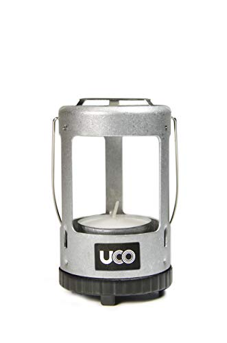 UCO Mini Ultra Light Candle Lantern for Tealight Candles, Aluminum