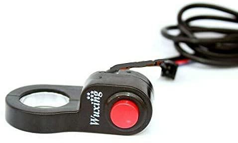 BMC-World - Interruptor para manillar de bicicleta eléctrica (22,5 mm)