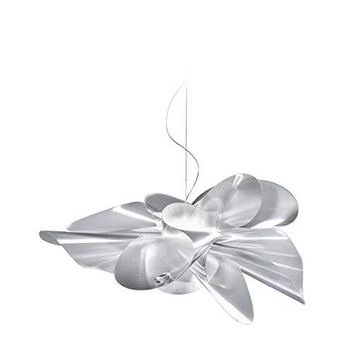Slamp Suspension New Etoile | Fabriqué à la main en Italie | Suspension moderne design moderne blanc transparent | Lampe LED, Plastique, Durchmesser 73 Cm, LED 25.00W