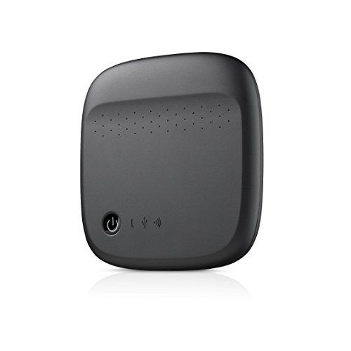 Seagate Wireless Mobile Portable Hard Drive Storage 500GB STDC500100 (Black)