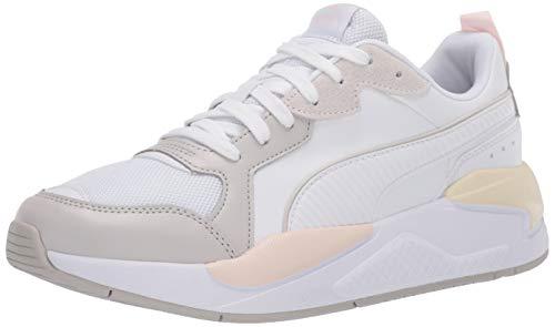 PUMA womens X-ray Sneaker, Puma White-gray Violet-rosewater-whisper White, 10 US
