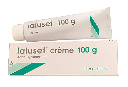 Ialuset Hyaluronic Acid Cream - 100% Pure, Undiluted - 3.3 ounces (100 g)