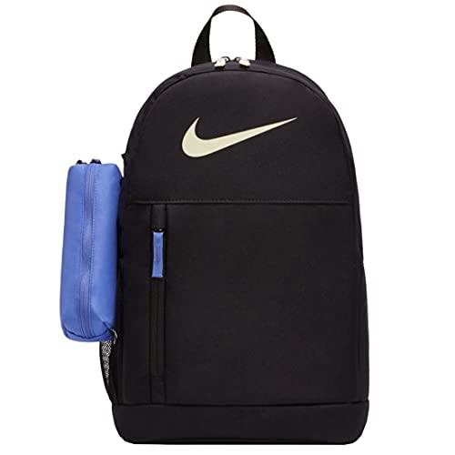 NIKE BA6603 Elemental Sports backpack unisex-child black/black/lime ice 1SIZE