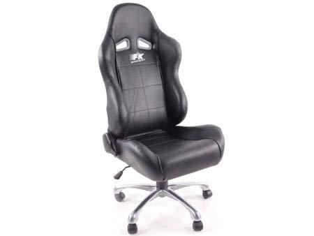 FKRSE011541 bureaustoel Edition Baltimore kunstleer zwart