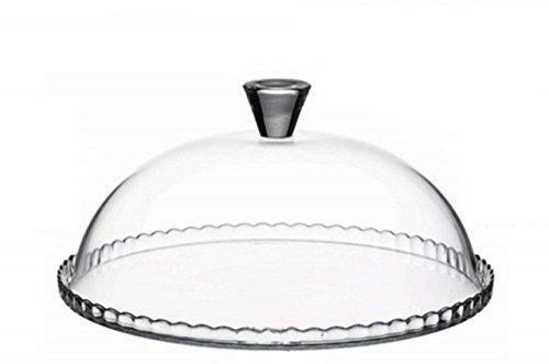 Tortenständer Patere Patisserie Tortenhaube aus Glas Tortenplatte Pasabahce 32 cm NEU&OVP