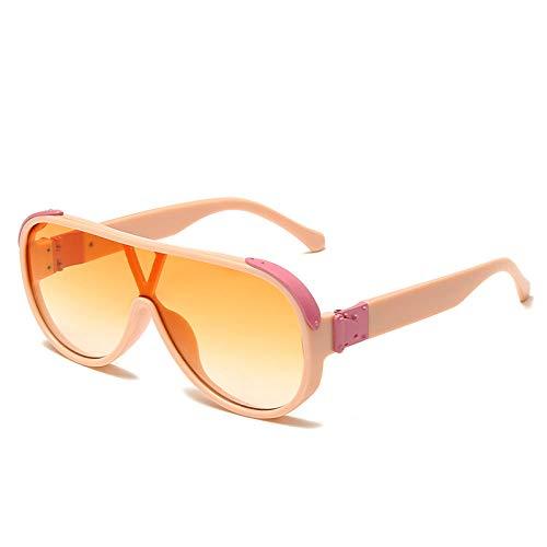 chuanglanja Gafas De Sol Wayfarer Gafas De Sol Grandes Ovaladas Para Mujer Gafas De Sol De Gran Tamaño Vintage Gafas De Moda Para Hombre y Mujer UV400-Color-T